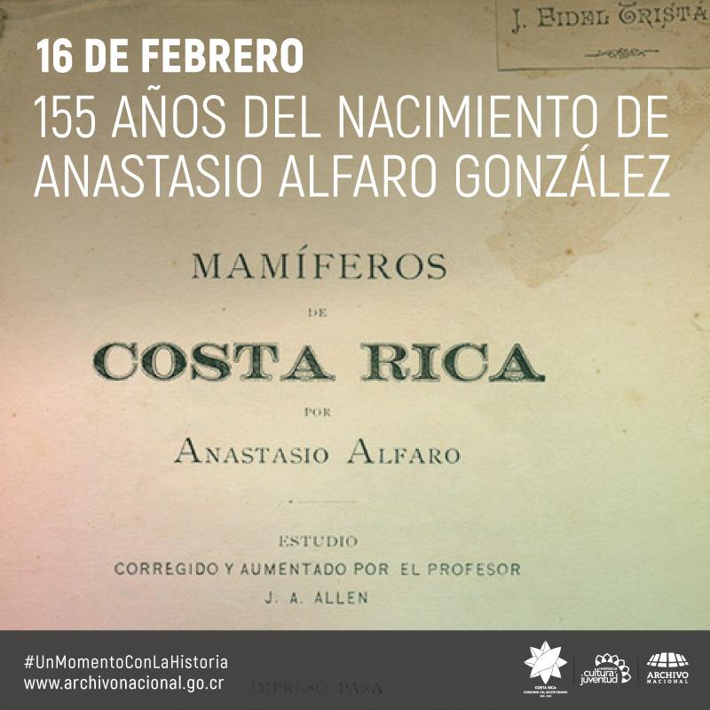 Imagen del libro Mamiferos en Costa Rica por el autor Anastacio Alfaro