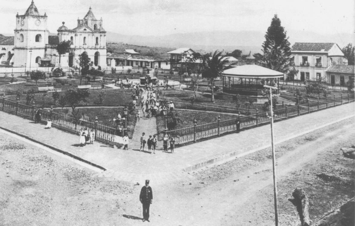 Foto antigua de principios del siglo 20 de San José